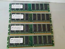 4*256mb DDR400, four of memory modules