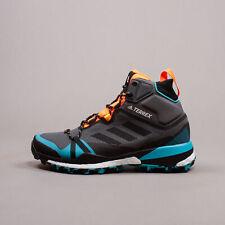 Adidas Outdoor Terrex Skychaser LT Mid GORE-TEX Boost hiking Grey Aqua FV6825