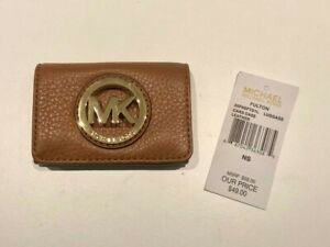 Michael Kors Card Case Fulton Leather