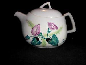 Carlton Ware Morning Glory Teapot Australian Design England Excellent w2s2