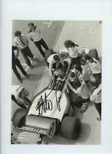 Nelson Piquet Brabham BT52B Italian Grand Prix 1983 Signed Press Photograph 2