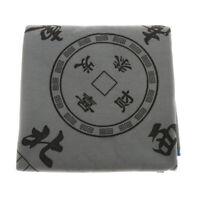 1x Silence Mahjong Mat Card Game Table Cover Anti-Slip Mah jongg, Gray