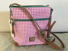 NWT Dooney & Bourke SENA Cross Body Canvas Sea Foam Purse BGNGS3264