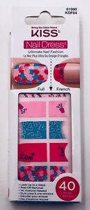 Kiss Nail Dress Nail Strips French or Full Many Designs to Choose From! VHTF!