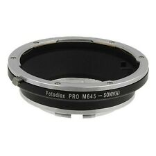Fotodiox Pro Lens Mount Adapter for Mamiya 645 lens to Sony Alpha A-MOUNT Camera