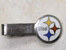 Vintage Pittsburg Steel Tie Clasp