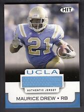 Maurice Jones-Drew 2006 SAGE HIT College Game Worn Jersey Card UCLA