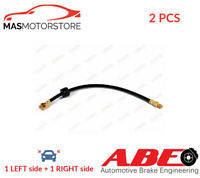 BRAKE HOSE LINE PIPE FRONT ABE C88105ABE 2PCS I NEW OE REPLACEMENT