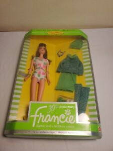 New 1996 Mattel 30th Anniversary Francie Doll Barbie MODern Cousin Rooted Lashes