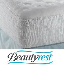Beautyrest Polyester Cotton Top Mattress Pad Cal King Protector Cover Bed Sleep