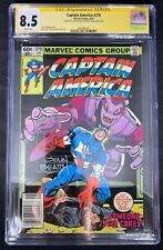 Captain America #270 CGC 8.5  6/82 3697966001 - Signed by Beatty & Zeck