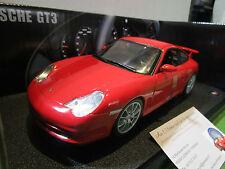 PORSCHE 911 GT3 rouge au 1/18 HOT WHEELS B6056 voiture miniature