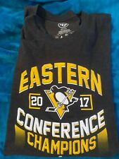 Brand New - Pittsburgh Penguins 2017 Conf Champ 2x TShirt (100% goes to charity)