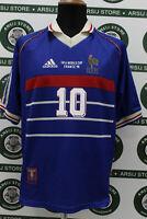 Maglia calcio FRANCIA FRANCE ZIDANE TG L 1998 shirt trikot maillot jersey