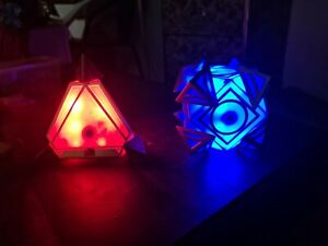 Galaxy's Edge Holocron.  Jedi And Sith With Magic 8 Ball Crystals
