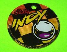 INDIANAPOLIS 500 Pinball Machine Plastic Game Keychain Original NOS BALLY 1995