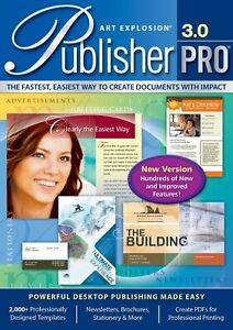 Art Explosion Publisher Pro 3.0 Platinum - Brand New - Sealed