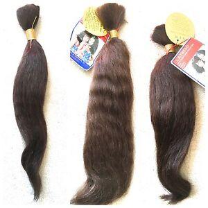 100% HUMAN HAIR STRAIGHT BULK -  LA TREND 18, 20, 22 Inches