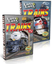 Lots & Lots of Trains, 2 DVD Set! Great for Kids with Award Winning Train Songs!