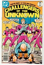 CHALLENGERS OF THE UNKNOWN #81 - Masser Cover & Art VF/NM 1977 Vintage DC Comic
