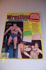 1976 Wrestling Annual WWF WWE Bruno SAMMARTINO 66 Page SUPERSTAR BILLY GRAHAM