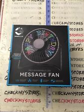 SMARTGEAR Programmable LED MESSAGE FAN PC Driver Download & CD-Rom Included +BOX