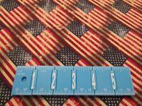 Patriotic 48475 Red White Blue Antique Diagonal Striped Cotton Fabric 1/2 YARD