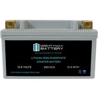 Mighty Max HVT-8LIFEPO4 12V 280CCA Lithium Iron Phosphate Battery