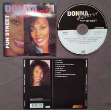 CD Donna Summer Fun Street GOSPEL DISCO SOUL FUNK 1995 Holland no lp mc dvd(ST1)