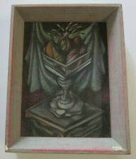 WILLIAM BOWNE PAINTING  DRAWING STILL LIFE ABSTRACT EXPRESSIONISM CUBISM CUBIST