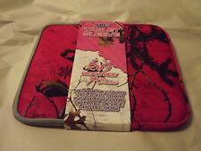 "Pink Camo 10"" Tablet Sleeve or Pistol, Jewelry, Glassware by RealTree NEW"