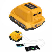 Charger for Dewalt DCB090 Converters Lithium Battery 10.8/14.4/18V Power Source