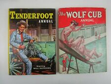 More details for tenderfoot and wolf cub annuals 1960 and 1961