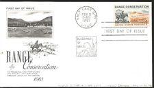 L) 1961 UNITED STATES, RANGE CONSERVATION, THE TRAIL BOSS, HORSE, WON, NATURE