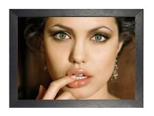 1 Angelina Jolie Photo American Beautiful Actress Sexy Hollywood Movie Poster