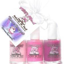 New Piggy Paint 3 Nail Polish Natural Mud Kid Safe Non Toxic Show Stopper  Set