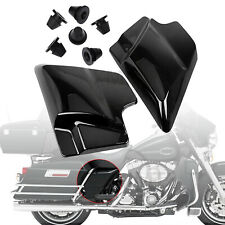 1Pair Motorcycle Side Cover Panel Rubber Grommets fits For Harley Road King FLHT