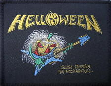 "HELLOWEEN écusson/patch # 9 ""Savage Pumpkins Play Rock 'n' ""- 9x7cm-Vintage"