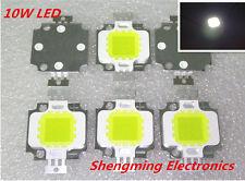 10PCS 10W LED Integrated High power LED Beads White 9.0-12.0V 800-900LM