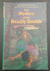 Alfred Hitchcock & Three Investigators #28 Mystery of the Deadly Double HC 1st