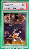 2000 UPPER DECK #189 KOBE BRYANT 🔥 PSA 9 🔥 HOF LAKERS