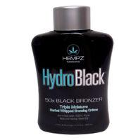 Hempz HydroBlack 50X Black Bronzer Triple Moisturizer Tanning Lotion 13.5 oz