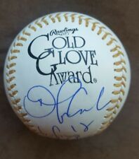 Orlando Cabrera signed Gold Glove Major league baseball Red Sox, Expos w/Coa