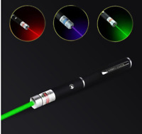 3PCS Laser pointer 5mw Pen Red + Green + Blue/violet Laser Pointer Visible Beam