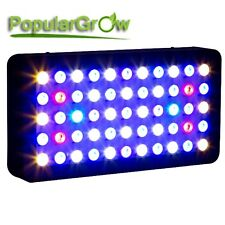 PopularGrow Dimmable165w LED Aquarium Grow Light For Fish Reef Coral Lamp Tank