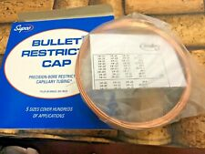 Refrigeration System Copper Cap Tubing  .071OD x .028 ID x 10', Coolers Freezers