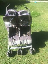 Maclaren twin techno Pram