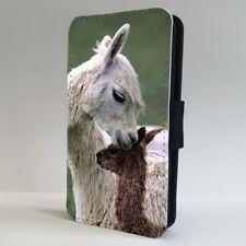 Alpaca Animal Funda para Estuche de Teléfono Abatible de familia IPHONE SAMSUNG