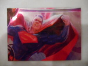 2014 DC Cryptozoic Epic Battles #12 SUPERMAN PANIC IN THE SKY
