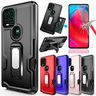 For Moto G Stylus 5G 2021 Case Stand Full Cover/Belt Clip Holster/Tempered Glass